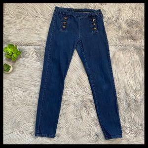 Zara Sailor Skinny Jeans
